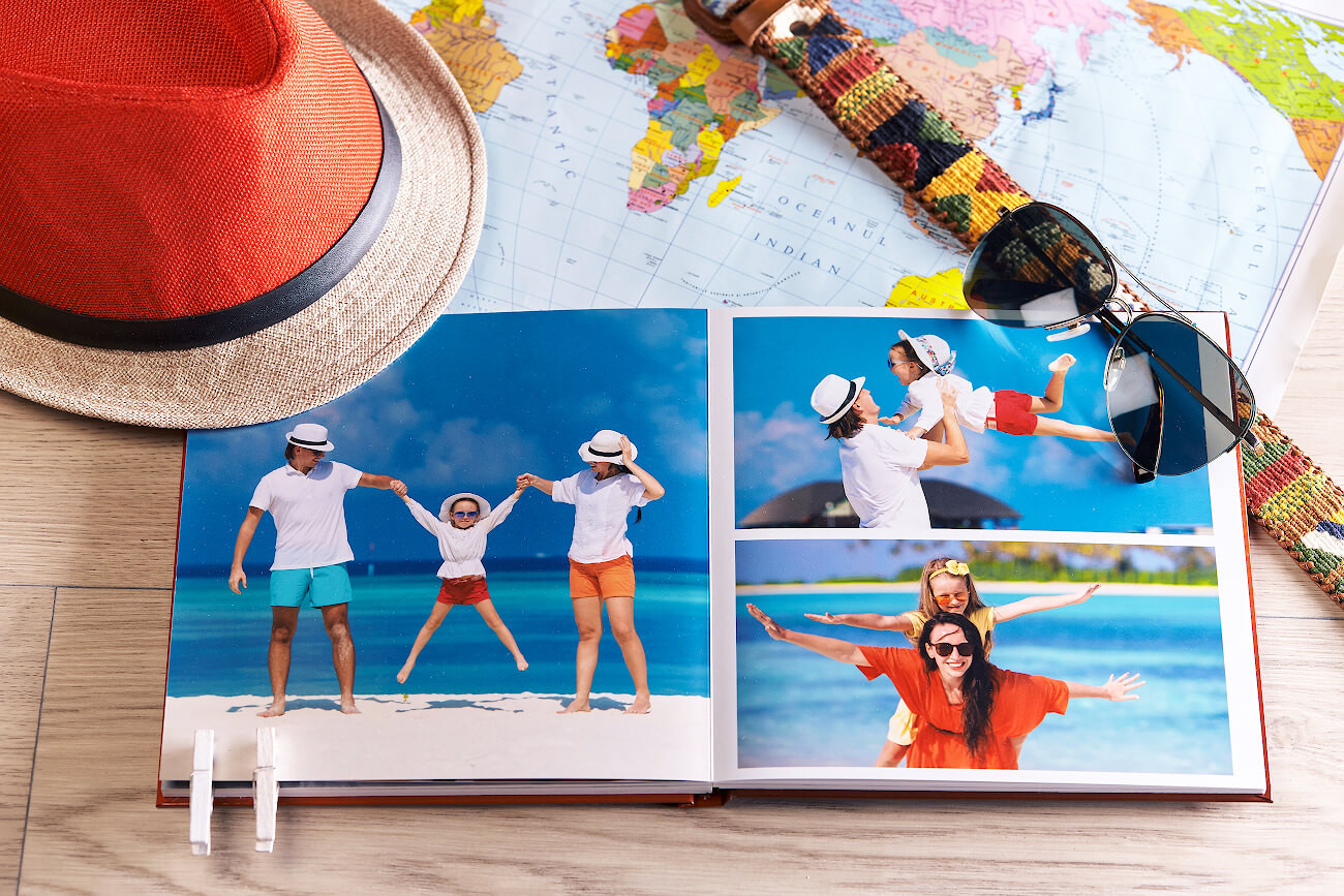 Vacanta de vara - Fotografii de la munte sau mare, pastreaza-le vii intr-o fotocarte